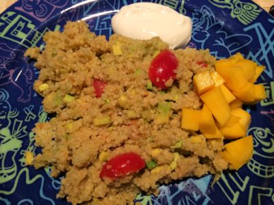 Avocado Couscous
